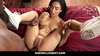 SheWillCheat - Hot Cheating Wife Fucked By Husbands Black Friend