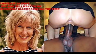 Forced To Fuck BBC Blonde Milf Mature Slut Wife Exposed