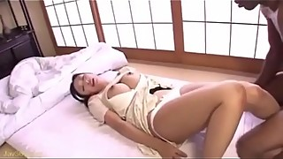 Asian milf creampie by black dick