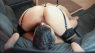 My Ass on his Face - Sucking my Best friends Wife Pussy all over my Face