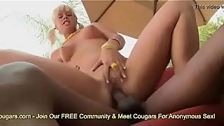 Jaelyn Fox &amp_ Tara Lynn Foxx Bend Over A Let Two Black Guys Fuck Their Pussies