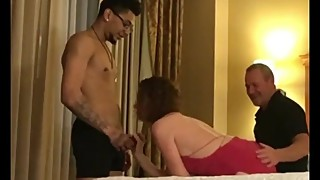 Hot wife takes young bbc