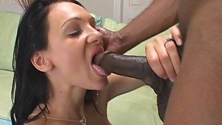 Babes Wet Pussy Filled With Huge Cock