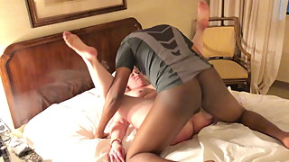Hotwife gets pounded by a much younger man