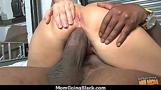 Huge Black Cock Destroys Amateur Housewife 8