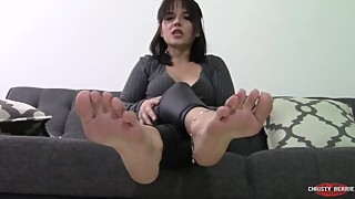 Feet Better Than Your Wife *FOOT CUCKOLD BLACKMAIL HUMILIATION*