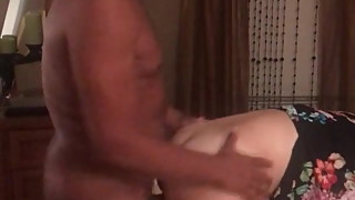 Gilf milf wife Jan bent over getting slammed #617