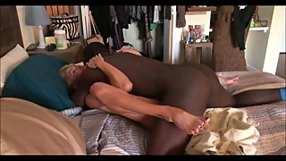 Cute hotwife used by black bulls