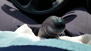 Daytime parking lot public blowjob from Xhamster wife story