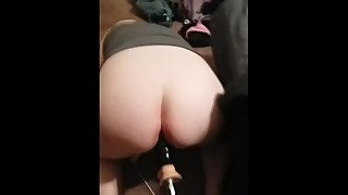 Wife Cums from BBC Fucking Machine Attachment 1/3