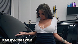 Sneaky Sex - Cassidy Banks Jmac - My Mechanic Fucked My Wife
