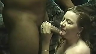 Insatiable hot wife enjoying her first BBC encounter