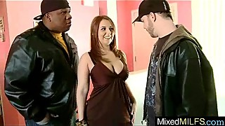 Interracial Sex With Big Black Dick In Wet Pussy Milf (lexxi lockhart) movie-18