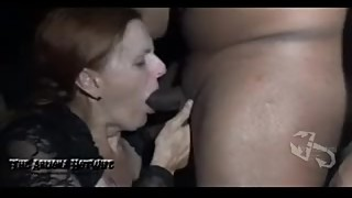The Arizona HotWife Theater Gangbang at Erotic Emporium Adult Theater 24