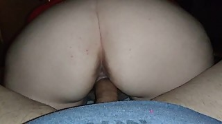 Wife milks the cum out
