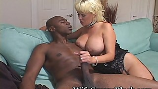 Plump Titted Wifey Craves Black Cock
