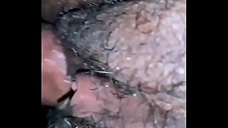 Closeup fucking my wife in the pussy and anal