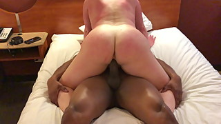 Slut wife filled with BBC