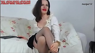Housewife in black stockings 2 - xlove18 com