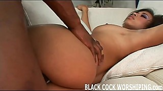 Two huge black cocks are going to tear me up