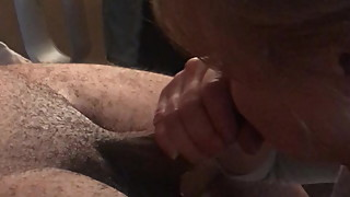 GILF MILF WIFE JAN BLOWJOB HIDDEN CAM #75